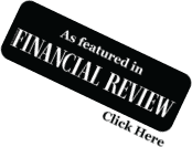 As Seen In Financial Review - Click Here